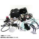 田中商会 125ccエンジン 12Vオールキット リターン4速【セル付】ステルスブラック モンキー 汎用