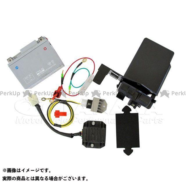 田中商会 CT110ハンターカブ(P型) 6V→12V化セット ハンターカブCT110