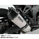 BMS RACING FACTORY CORSA-EVO II スリップオンW 政府認証 サイレンサー:チタン Ninja1000