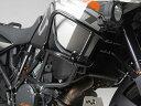 SW-MOTECH KTM 1050Adventure/1190Adventure アッパークラッシュバー※純正クラッシュバー取付け用 カラー:ブラック 1050Adventure/1190Adventure