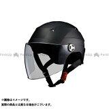 LEAD工業 SERIO RE-41 開閉シールド付きハーフヘルメット LL/61-62cm未満 カラー:マットブラック