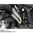 【送料無料】OVER RACING PROJECTS ツインチタンメガホン スリップオンマフラー YZF-R25
