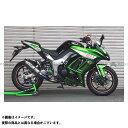 BEET JAPAN NASSERT Evolution TypeII T-2 マフラー サイレンサー:ブルーチタン Ninja1000/ABS