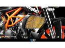 Dimotiv ラジエタープロテクティブガード/KTM DUKE390 カラー:ブラック DUKE390