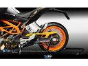 Dimotiv チェーンガードカバー KTM DUKE390/200/125 カラー:ブラック DUKE125 DUKE200 DUKE390