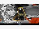 Dimotiv スプールブラケット+スプール KTM DUKE390/200/125 カラー:ゴールド DUKE125 DUKE200 DUKE390