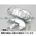KITACO メッキクランクケースカバーセット アドレスV125 アドレスV125G
