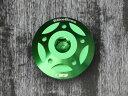 BikeBros. オイルフィラーキャップ M30×P1.5 カラー:グリーン