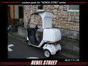 REBEL STREET ジャイロキャノピー用 オーバーヘッドパネル(白) 仕様:純正ワゴン用 ジャイロキャノピー(2スト&4スト全車)