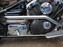 部品屋K&W ステンレス製ショットガンマフラー ドラッグスター400、ドラッグスター400クラシック