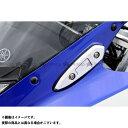 AGRAS ミラーキャンセラー カラー:ガンメタ YZF-R25