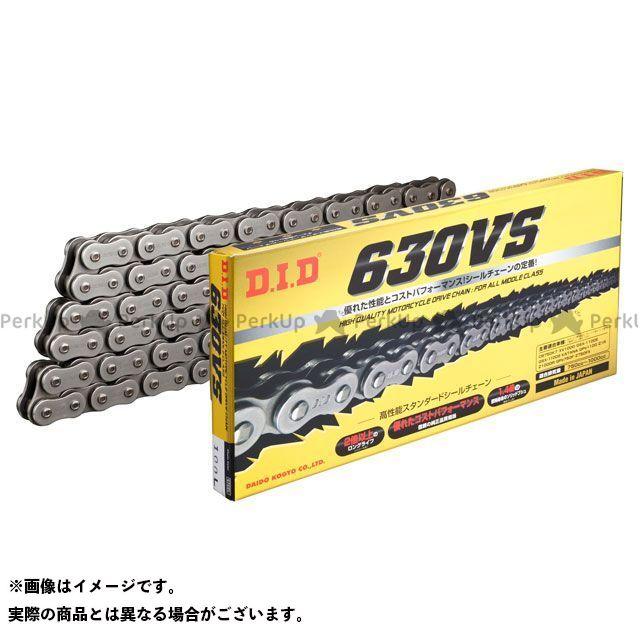 DID モーターサイクルチェーン Vシリーズ 630VS(スチールカラー) リンク数:100L