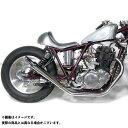 Motor Rock SR400/500用 トランペットマフラー/ストレート フルエキゾースト タイプ:アップ SR400/500