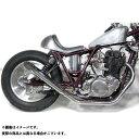 Motor Rock SR400/500用 ターンアウトマフラー フルエキゾースト タイプ:アップ SR400/500