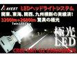 AVEST ヤマハバイク汎用 CREE H4ハイローHIDではないLEDライトバルブ