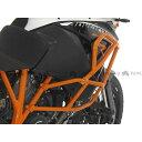 TOURATECH クラッシュバーエクステンション 純正クラッシュバー用 【オレンジ】 KTM 1190 Adventure R 1190 Adventure R