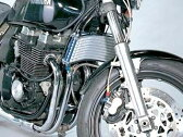 PLOT ラウンドオイルクーラーキット 9段#6(シルバー) XJR400