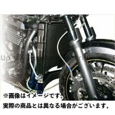 PLOT ラウンドオイルクーラー ラウンドラジエター専用 5段 カラー:ブラック ZRX1200DAEG
