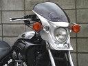 【送料無料】CHIC DESIGN ハイグレード・ビキニカウル マスカロード カウルカラー:未塗装(黒ゲルコート) スクリーンカラー:スモーク VMAX