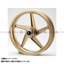ビトーR&D ZZR1100 マグネシウム鍛造ホイール セット MAGTAN JB2 フロント:3.50-17/リア:6.00-17 カラー:ゴールド BITO R&D