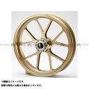 BITO R&D マグネシウム鍛造ホイール セット MAGTAN JB3 フロント:3.50-17/リア:5.50-17 カラー:ゴールド XJR1300(国内仕様)