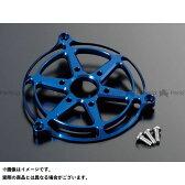 POSH アルミマシンドクーリングファンカバー カラー:ブルー シグナスX/SR(国内仕様)