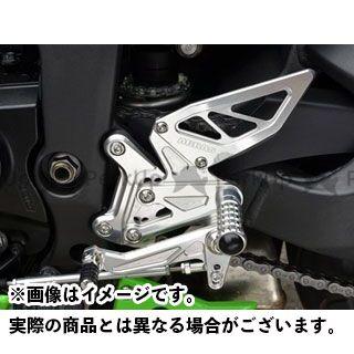 アグラス ニンジャZX 6R バックステップ関連パーツ バック