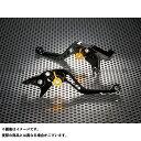 【送料無料】U-KANAYA スタンダードタイプ ショートアルミビレットレバーセット レバー:ブラック アジャスター:グリーン Ninja ZX-10R