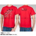 ヨシムラ YOSHIMURA カジュアルウェア Tシャツ(I've Got The Power!) 赤 XL