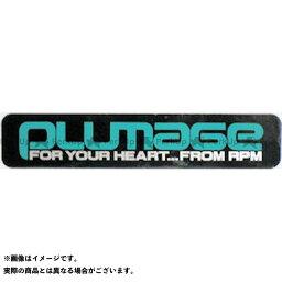 RPM ステッカー PLUMAGE