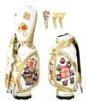 七福神 SEVEN GODS CART BAGGOLD Version キャディバッグ/ヘッドカバーセット(1W,FW×2)WINWINウィンウィンキャディバック ゴルフバック ヘッドカバー05P05Dec15