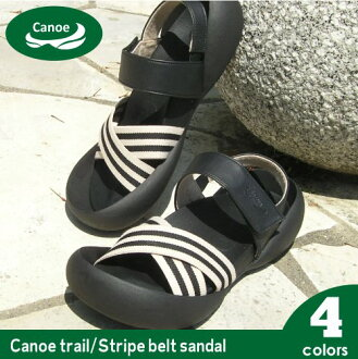 Canoe カヌーサンダル-トレイルストライプベルト/men's / made in Japan /TC102 / regatta