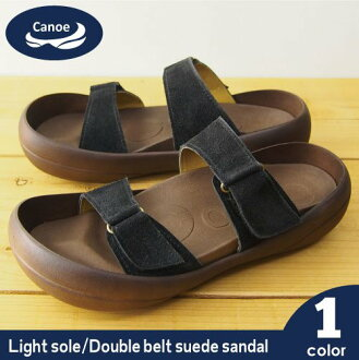 / リゲッタ /fs3gm made in Canoe canoe sandals light sole suede double belt /light/ men / Arizona /CL503/ Japan