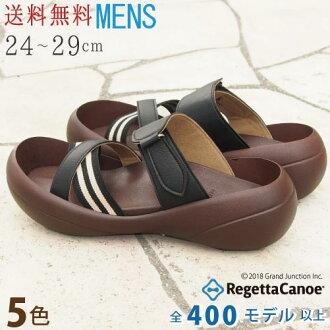 RegettaCanoe canoubigsawl-harnesses striped Sandals /CJBF5110 / made in Japan / righettacanou / Bigfoot / men's