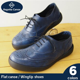 RegettaCanoe righettacanoumensflatcanou-wing tip shoes /CJFC7102/CJFC7103 / Japan made