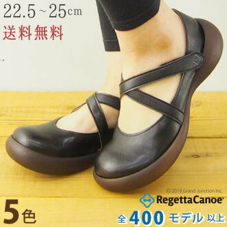 Canoe カヌーエッグヒール SHOE harnesses pumps canoe / sandal women's /C-905 / made in Japan / regatta