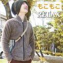 ファラオジャケット/もこもこ/メンズ/ジップジャケット/GJ relax