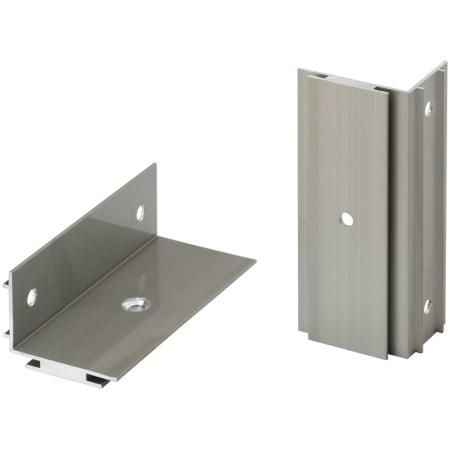 ホームEX柱取付用アルミ固定金具(2個入)HEX-K01タカショー柱取付用アルミ固定金具HEX-K0