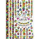 Sha-Nail Pro (写ネイルPRO/写ネイルプロ) ネイルシール Flower Closet/フラワークローゼット (Vivid/ヴィヴィッド) 【アー...