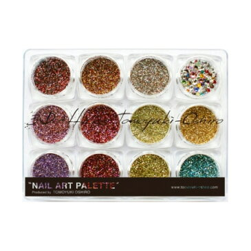 nail for all ネイルパーツ 3D Attacker ミックスグリッターパレット 4 sparkle 【大城智之先生】【ネコポス対応】