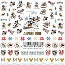 Sha-Nail Pro (写ネイルPRO/写ネイルプロ) ネイルシール MICKEY'S ALPINE VIBE ミッキー&ドナルドダック 【Disney】【...