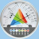 ショッピング熱中症 熱中症・インフルエンザ警告温湿度計