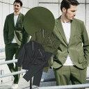 【ドラマ着用】ジャケットとパンツがセットになったポケッタブルナイロントロッタースーツ