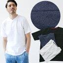 [メール便発送可]【ドラマ着用】天竺編みのボールドボーダーの大胆な切り替えが特徴の半袖Tシャツ