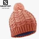 ショッピングSALOMON 【メール便対応】 サロモン SALOMON POLY BEANIE LC1424600 レディース