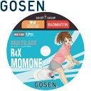 ゴーセン R4XMOMONE バドミントンストリングス BS1502-10
