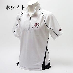 UdamonGOLF ユダマン × GZONE double name short sleeve ZIP shirt XUD3330