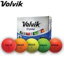 ◇Volvik ボルビック Crystal クリスタル ゴルフボール 1ダース(12P) ヴォルビック