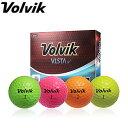 Volvik ボルビック VISTA iv ビスタ アイブイ ゴルフボール 1ダース(12P) ヴォルビック 【あす楽対応】