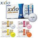 ゼクシオ エアロ ドライブ ゴルフボール XXIO AERO DRIVE 1ダース(12球) 2015年モデル 【あす楽対応 即納】 【2ダース以上送料無料】